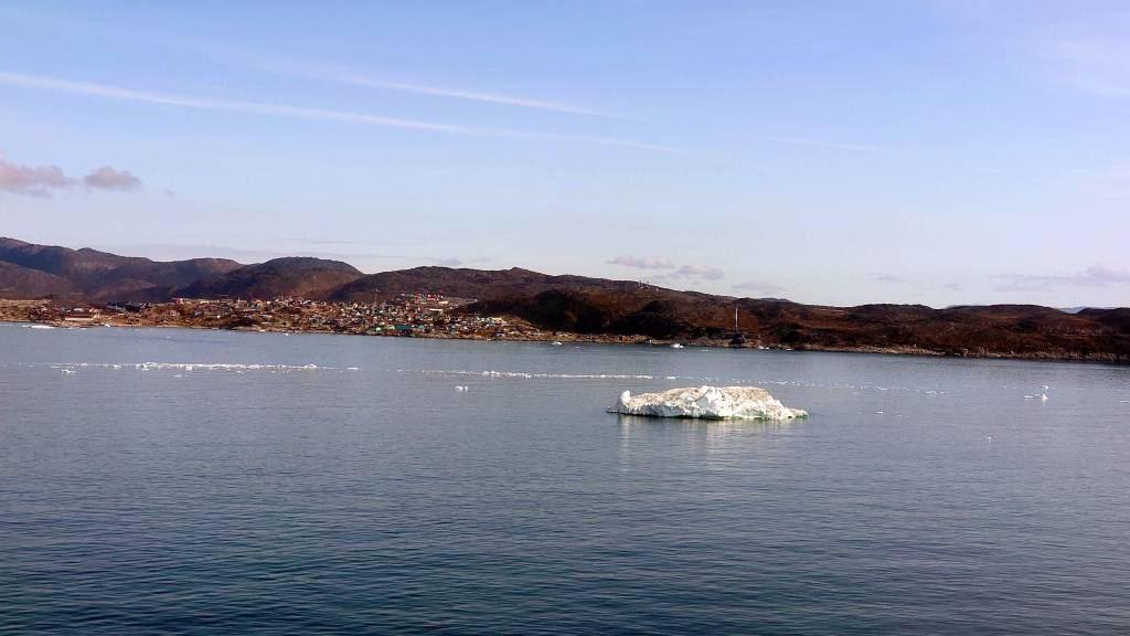 Grönland, Diskobucht, Blick auf Ilulissat