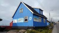 Grönland, Qaqortoq, Gebäude