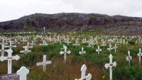 Grönland, Qaqortoq, Friedhof