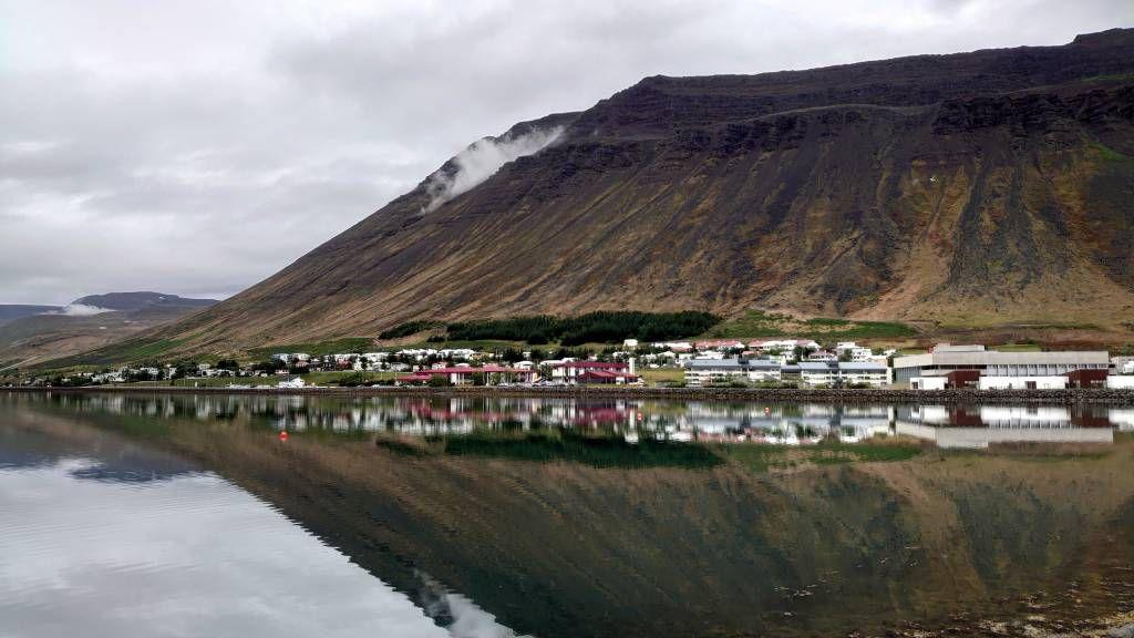 Island, Ísafjörður, Ansicht