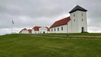 Island, Álftanes, Wohnhaus des Staatspräsidenten