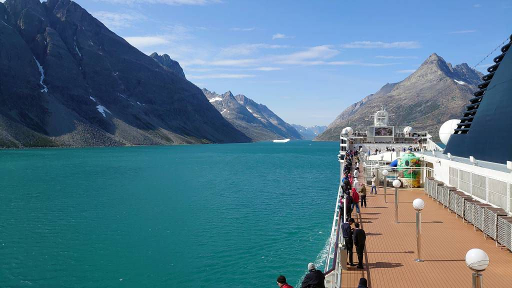 Grönland, Prinz-Christian-Sund, Landschaft