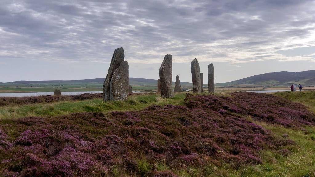 Orkney Inseln, Stenness, Ring von Brodgar
