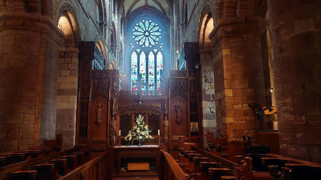 Orkney Inseln, Kirkwall, St. Magnus Kathedrale