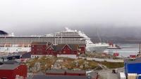 Grönland, Nuuk, MSC Orchestra im Hafen