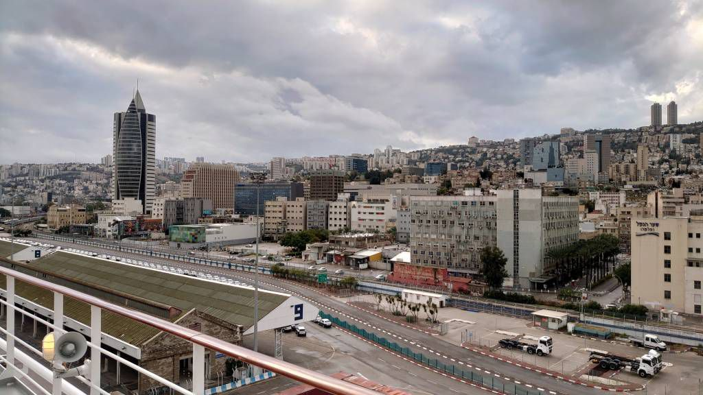 Haifa, Stadtansicht