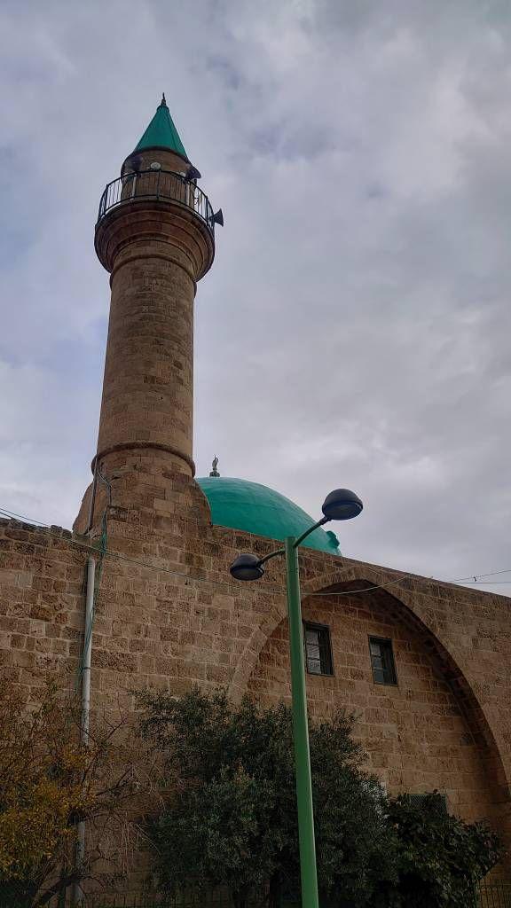 Akko, Altstadt, Moschee