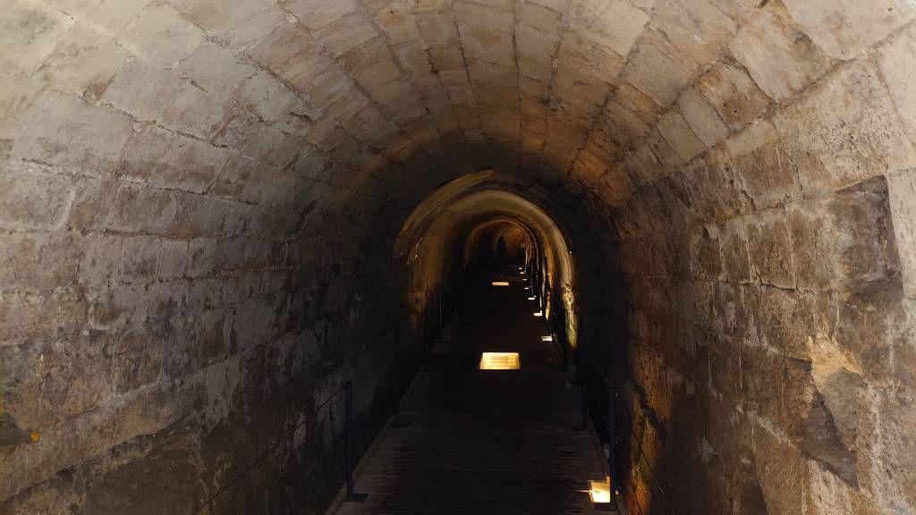 Akko, Kreuzritter Tunnel