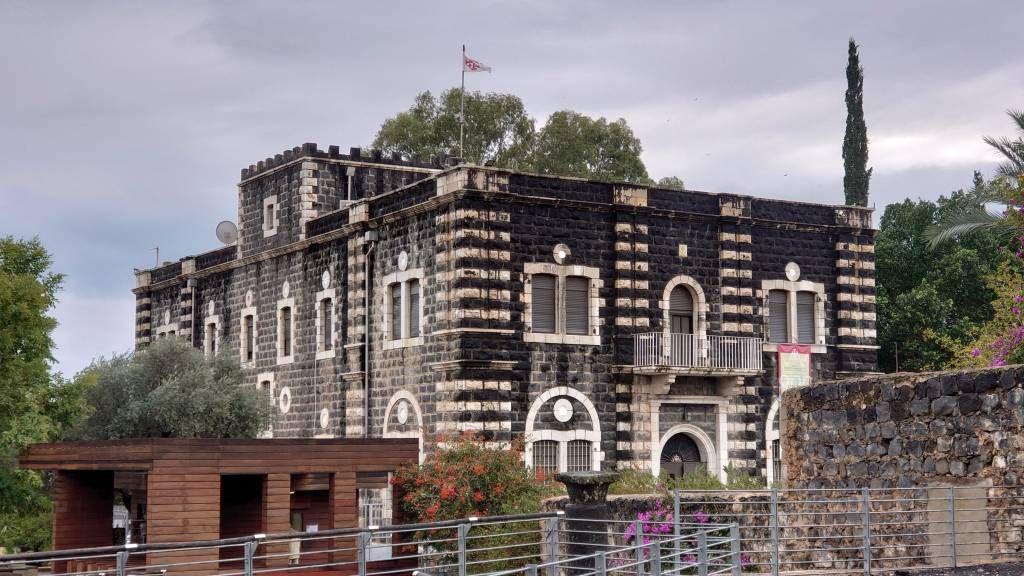 Kafarnaum, Franziskanerkloster