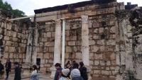 Kafarnaum, die alte Synagoge