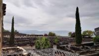 Kafarnaum, Blick auf den See Genezareth