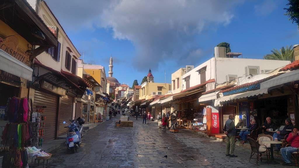 Rhodos, Altstadt, Sokrates Straße
