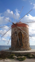 Rhodos, Altstadt, Windmühle