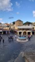 Rhodos, Altstadt, Hippokrates Platz