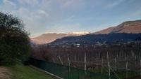 Rückreise, Alpenpanorama