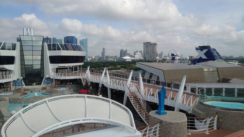 Singapur, Cruise Center, MSC Splendida