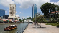 Singapur, Blick über den Singapur Fluss