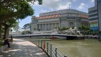 Singapur, die Cavenagh Brücke