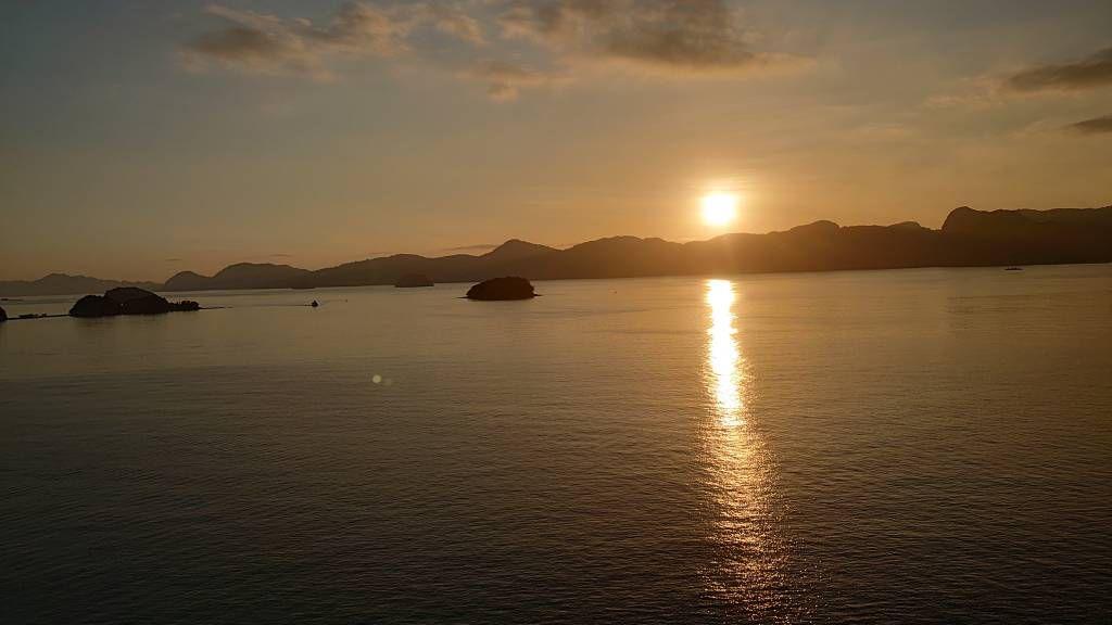 Langkawi, Sonnenaufgang
