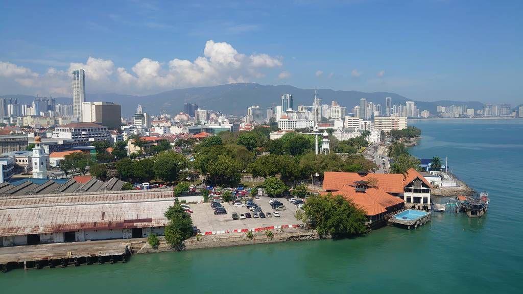 Penang, Georgetown, Kreuzfahrt Anleger