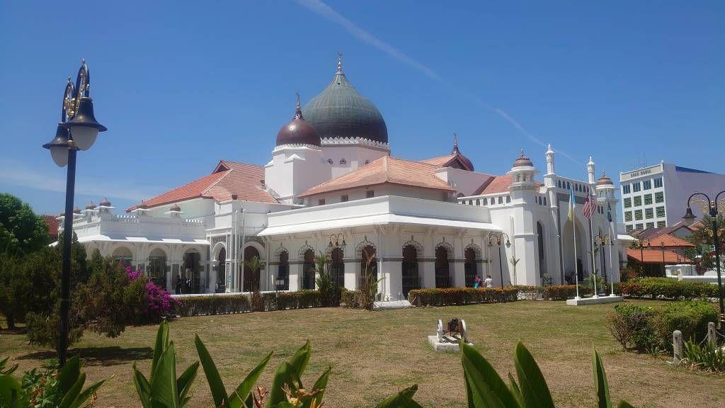 Penang, Georgetown, Moschee