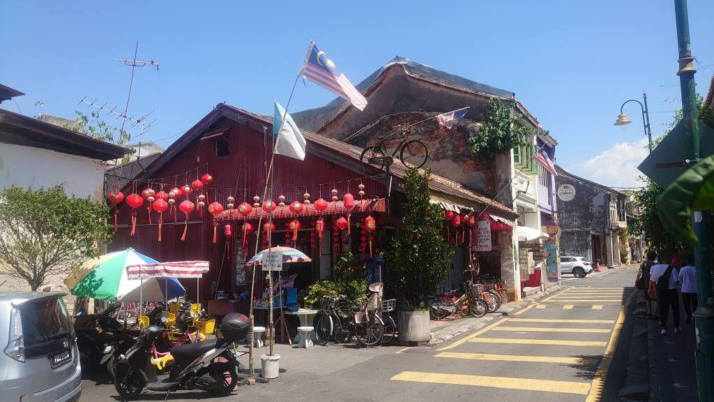 Penang, Georgetown, Gaststätte