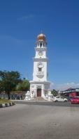 Penang, Georgetown, Uhrturm