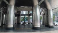 Kuala Lumpur, Petronas Towers, Eingangsbereich zum Mandarin Oriental Hotel