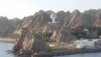 Muskat, Hafeneinfahrt