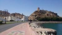 Muskat, Blick auf das Mutrah Fort