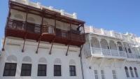 Muskat, alte Gebäude