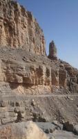 Oman, Khasab, Fahrt auf den Jebel Harim