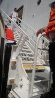 Oman, Khasab, Umstieg vom Tenderboot
