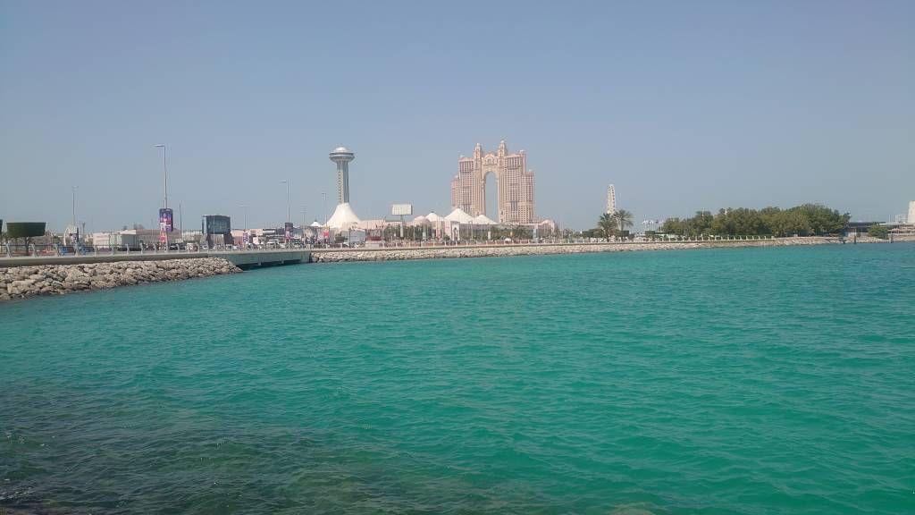Abu Dhabi, Blick in Richtung Fairmont Marina Hotel