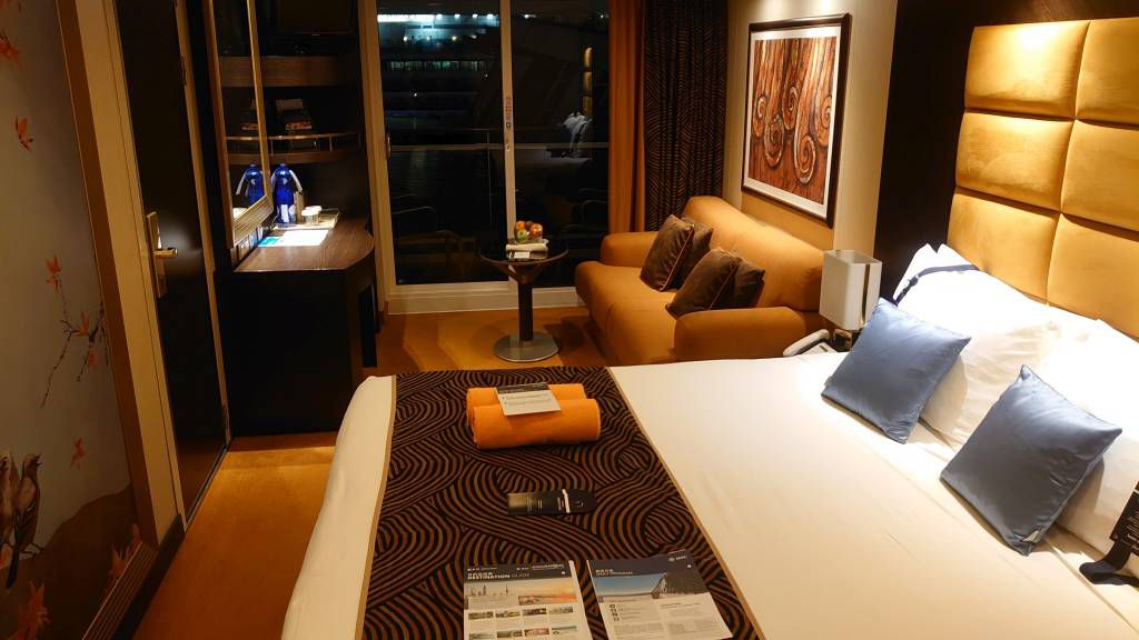 Singapur,  MSC Splendida, Kabine