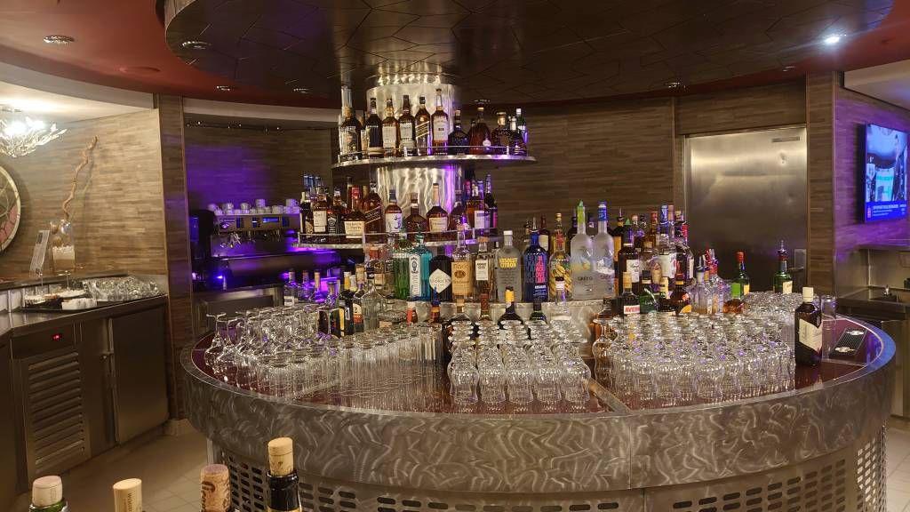 MSC Splendida, meine bevorzugte Bar