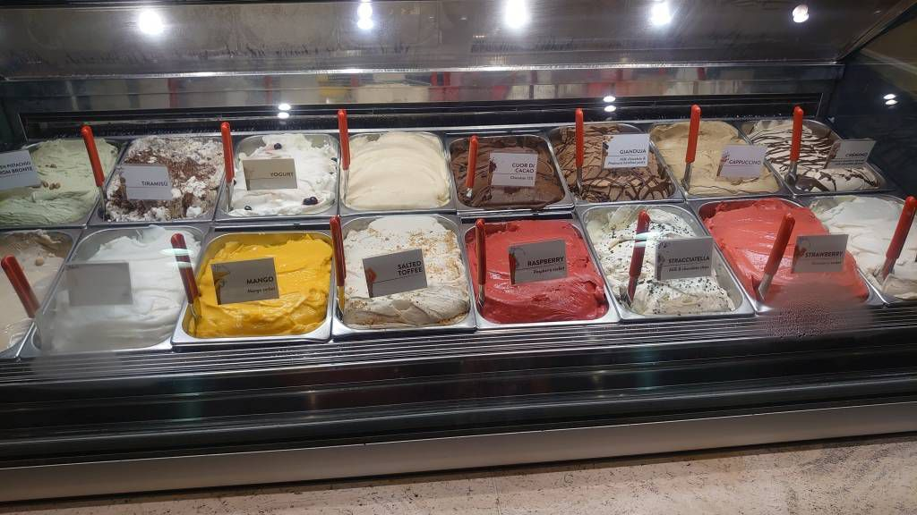 MSC Splendida, Eissorten
