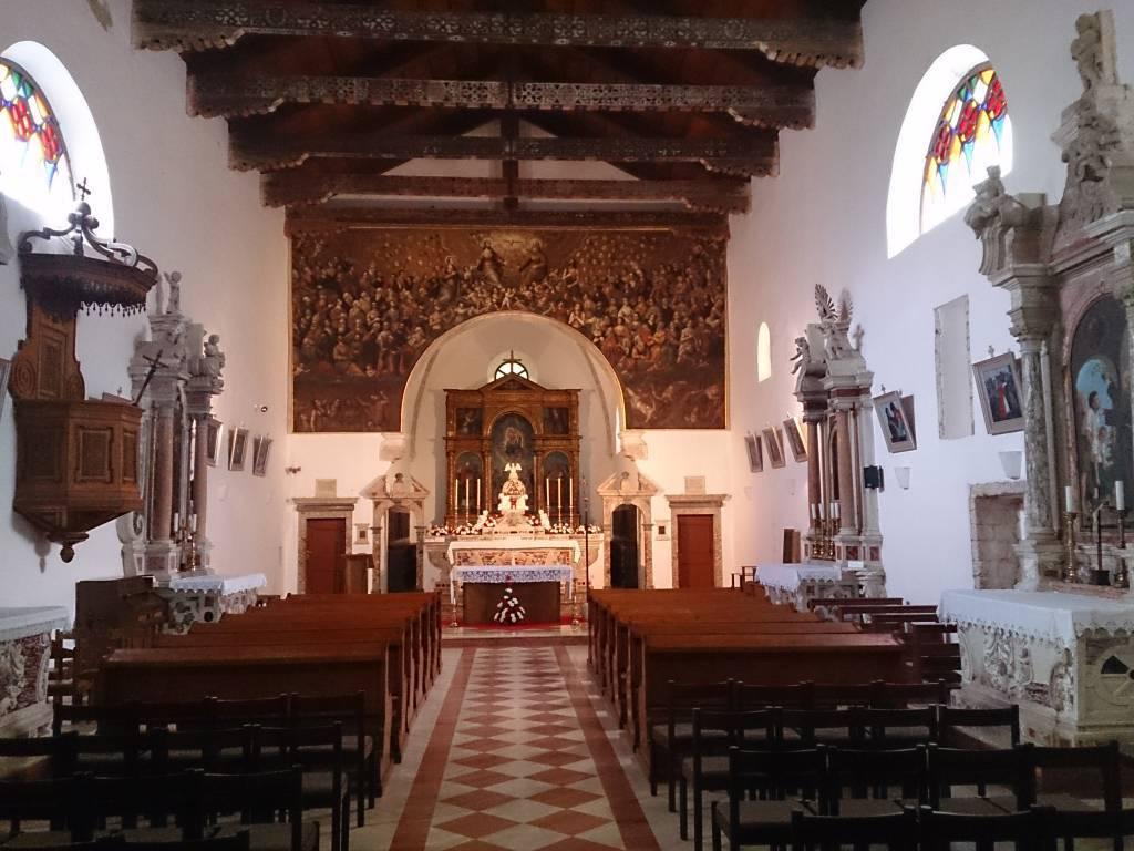 Insel  Kosljun, Kloster