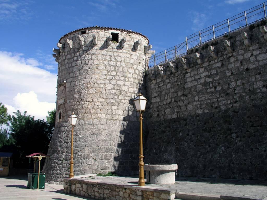 Insel Krk, Krk, Frankopan Castle