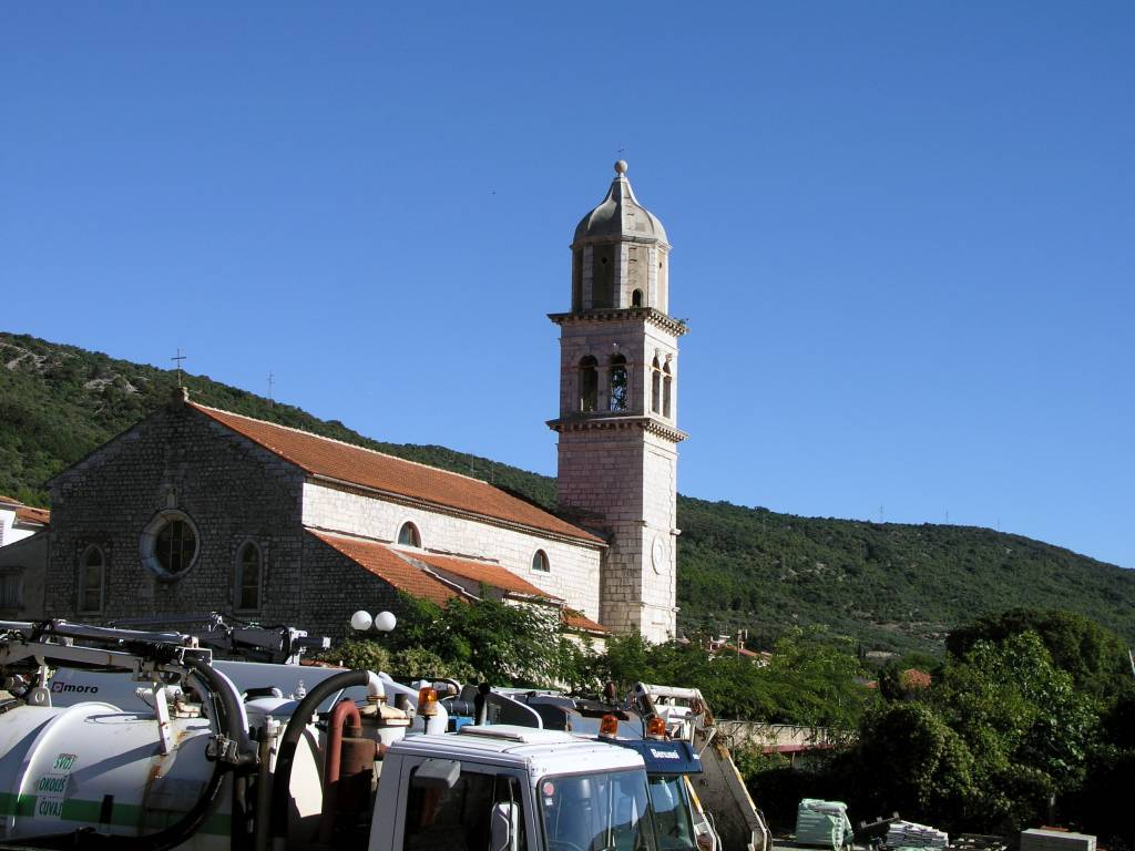 Insel Cres, Cres, Kirche