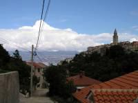 Insel Krk, Blick über Vrbnik