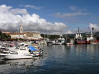 Insel Krk, Krk, Hafen
