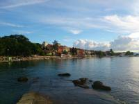 Insel Krk, Njivice, Strandpromenade