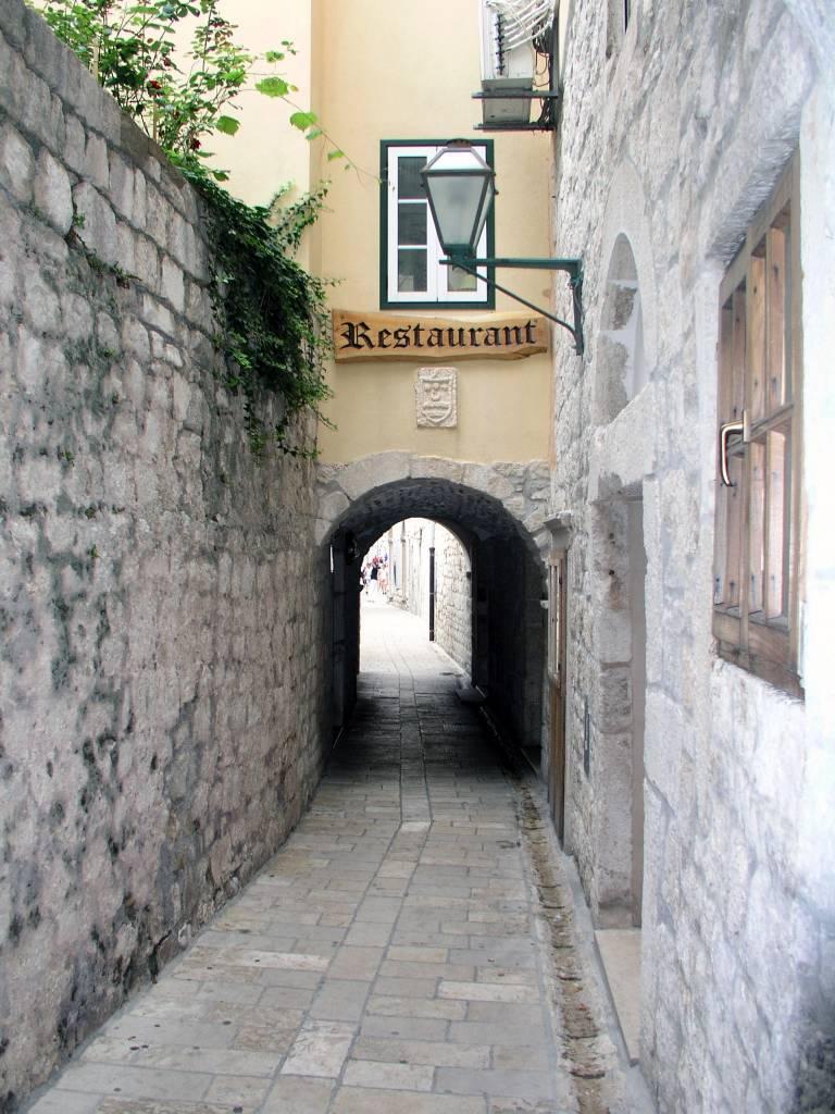 Insel Rab, Rab, Altstadt