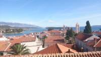 Insel Rab, Rab, Blick über die Dächer