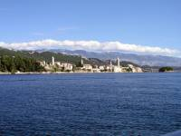 Insel Rab, Rab, Blick vom Meer