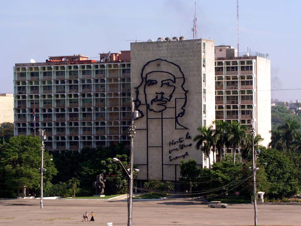Innenministerium am Platz der Revolution in Havanna