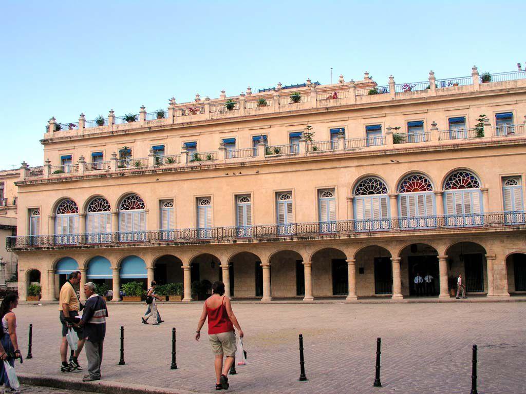 Gebäude in der Altstadt von Havanna