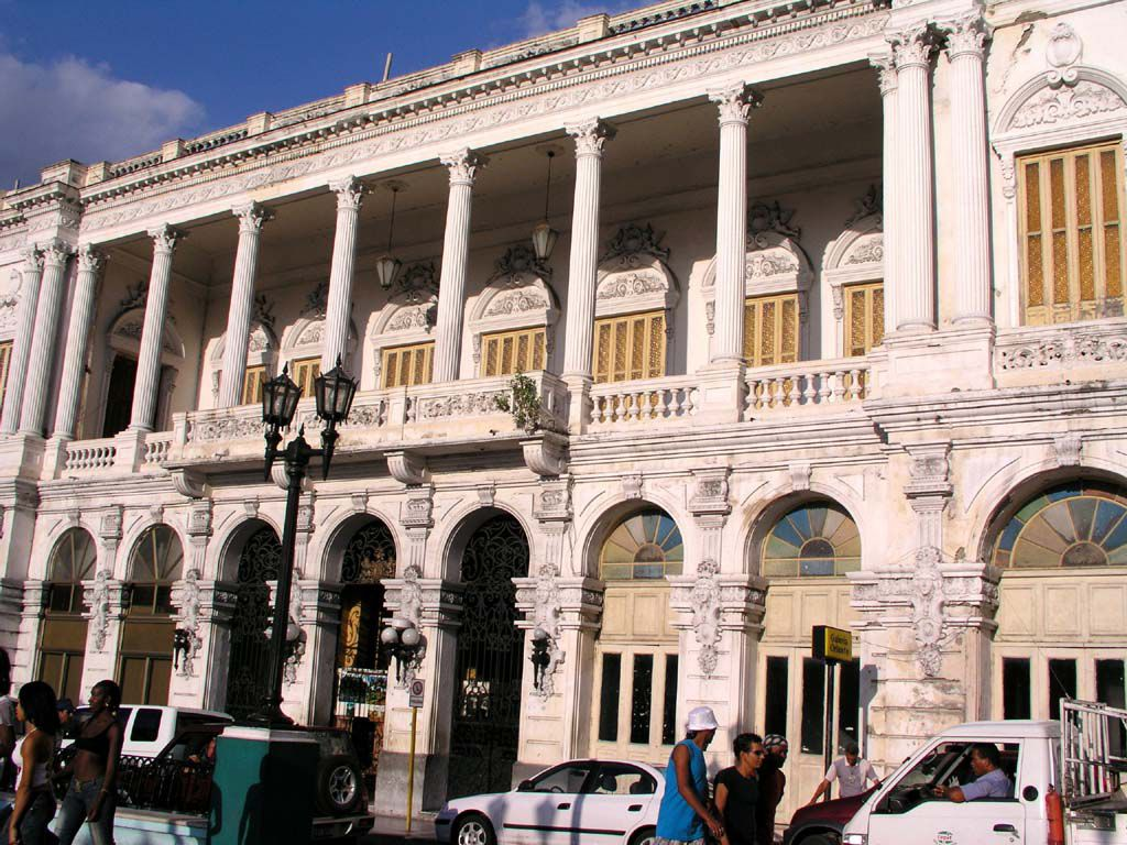 Gebäude in Santiago de Cuba