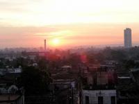 Sonnenaufgang über Camagüey